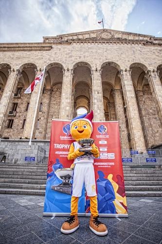 EuroBasket 2015 Trophy Tour Georgia, Tbilisi