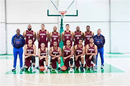 Venezuela team photo