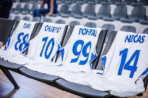 10 Lukas Charvat (CZE), 99 Pavel Dohnal (CZE), 88 Matej Dana (CZE), 14 Jakub Necas (CZE)
