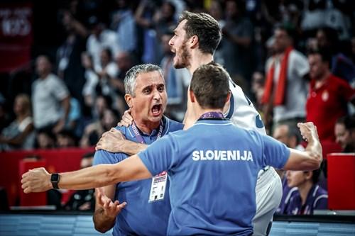 Igor Kokoskov (SRB), 3 Goran Dragic (SLO)