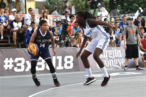 FRA vs GUM; Joylyn PANGILINAN (Guam)