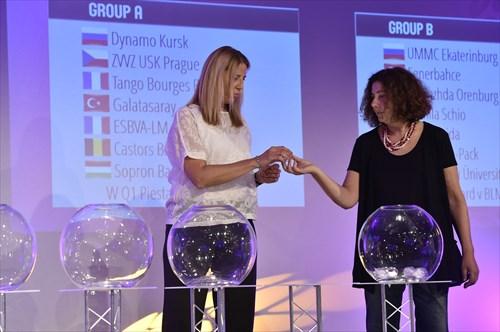 EuroLeague Women 2017/18 Draw