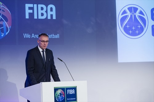 Kamil Novak, FIBA Executive Director Europe