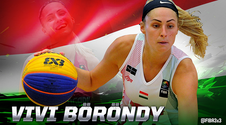 Böröndy becomes new number one player in the world in FIBA 3x3 Women's Ranking