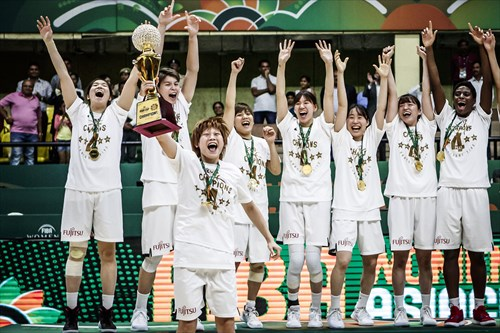 88 Himawari Akaho (JPN), 52 Yuki Miyazawa (JPN), 45 Aya Watanabe (JPN), 33 Tamami Nakada (JPN), 27 Saki Hayashi (JPN), 15 Nako Motohashi (JPN), 14 Sanae Motokawa (JPN), 13 Rui Machida (JPN), 10 Ramu Tokashiki (JPN), 0 Moeko Nagaoka (JPN)
