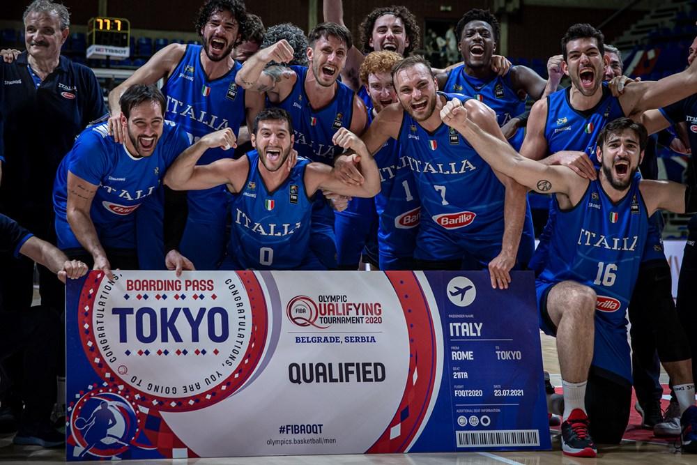 Olimpiadi di Tokyo 2020: Il calendario dell'Italbasket. Si inizia con la Germania il 25 Luglio