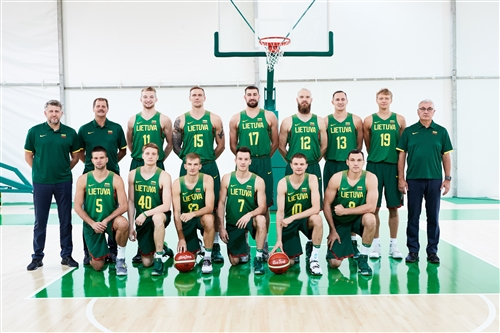 Lithuania team photo