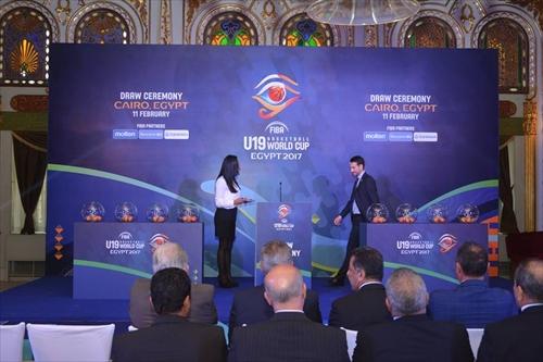 Draw Ceremony - FIBA U19 Basketball World Cup, Egypt 2017