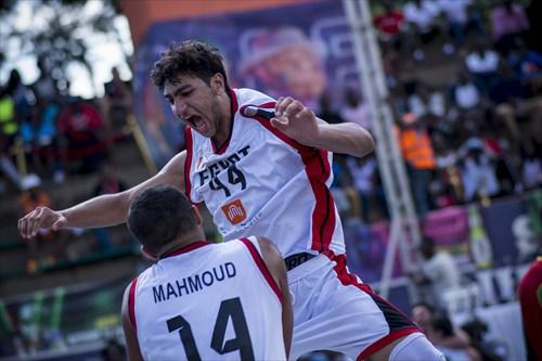 14 Mahmoud Ahmed Ahmed Shokr (EGY), 44 Saifeldeen Moustafa (EGY)