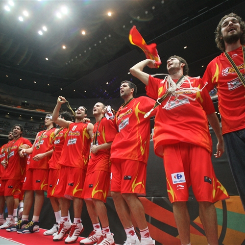 Team Spain; 4 Pau GASOL (Spain)