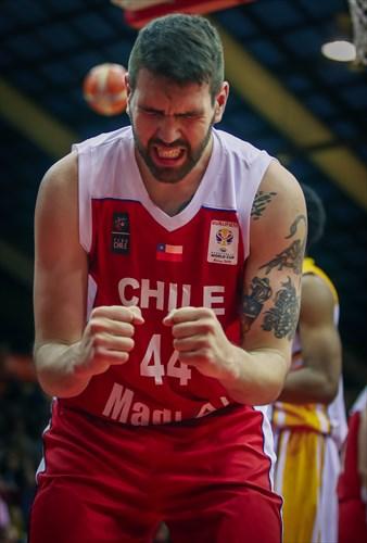 44 Manuel Suarez (CHI)