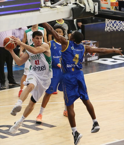 4 Edgar Moreno (COL), 41 Demian Alvarez (URU)