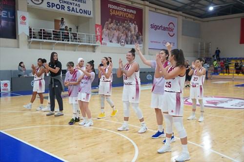 35 Melike Yalcinkaya (BEOI), 23 Nur Nihan Dabakoglu (BEOI), 18 Hanna Brych (BEOI), 15 Albina Razheva (BEOI), 14 Nisa Yalcin (BEOI), 10 Lindsey Denise Pulliam (BEOI), 8 Nazli Gungor (BEOI), 5 Esma Celen Turk (BEOI), 3 Kolby Brennan Morgan (BEOI), 2 Sugranur Hatice Sonmez (BEOI), 1 Aysel Bakir (BEOI)