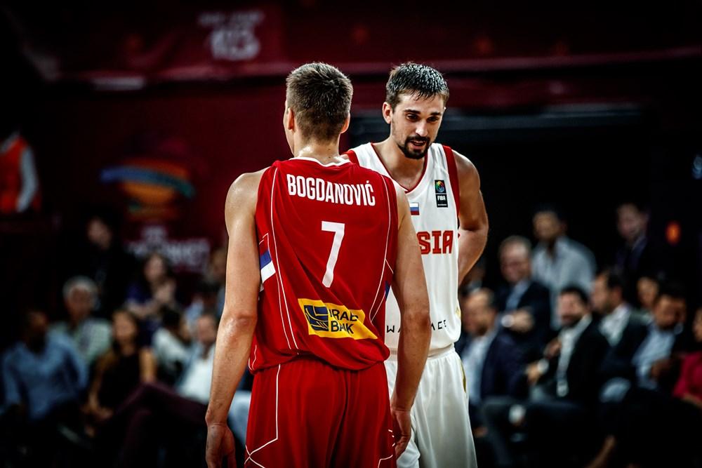 1 Aleksei Shved (RUS), 7 Bogdan Bogdanovic (SRB)