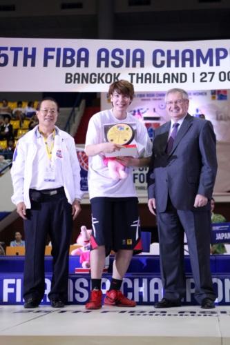 MVP - Ramu TOKASHIKI (Japan)