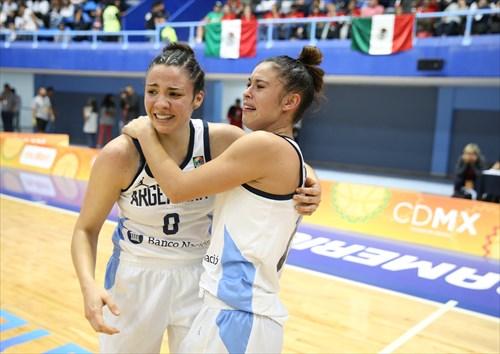 10 Camila Suarez (ARG), 8 Sofia Wolf (ARG)