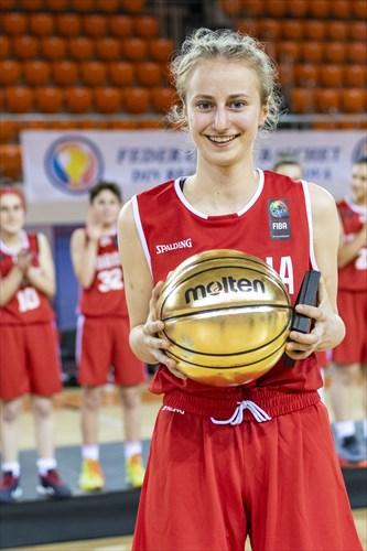 MVP Sarah Pia Winkler (AUT)