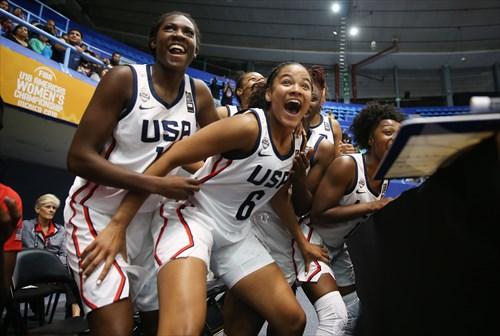 USA Celebrates Gold Medal