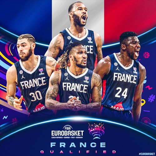 France qualified for FIBA EuroBasket 2022 on February 20, 2021