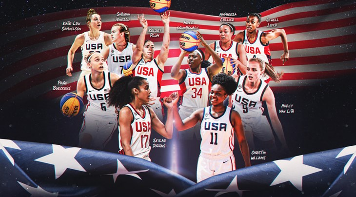 Who can help USA qualify with women to the Tokyo 2020 Olympics in 3x3?