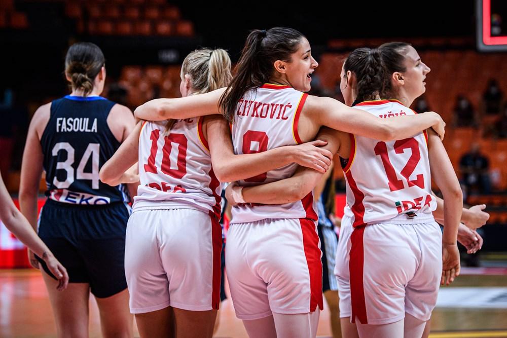 Montenegro consigue la primera victoria en el Eurobasket