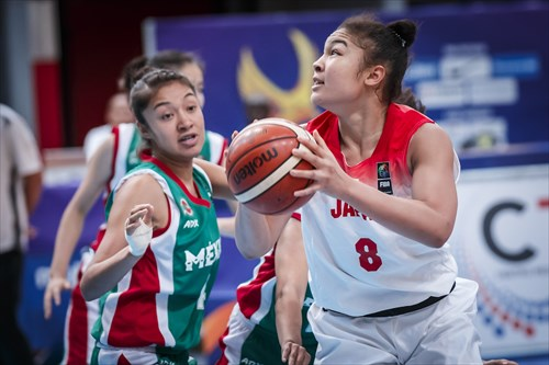 Umezawa led Japan to the win over Mexico (14 PTS & 13 REB)