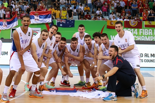 Serbia, Bronze Medalists.