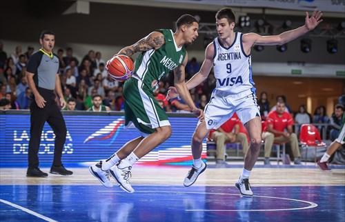 6 Juan Toscano (MEX), 9 Nicolas Brussino (ARG)