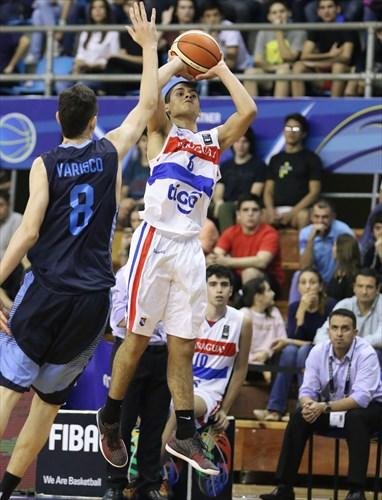 8 Ignacio Varisco (ARG), 6 Roberto Mercado (PAR)