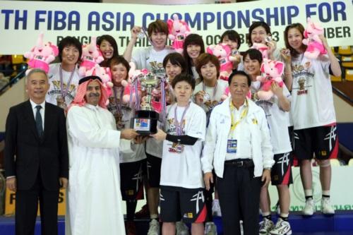 Gold medalists - Japan