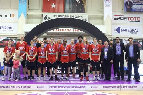 Runners-up Bellona AGÜ (photo: Ahmet Tokyay)