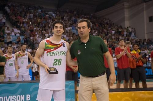 28 Rafael Lisboa (POR)