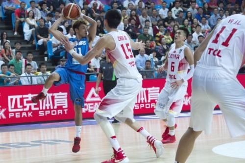 11 Terrence ROMEO (Philippines); 6 Ailun GUO (China); 15 Qi ZHOU (China)