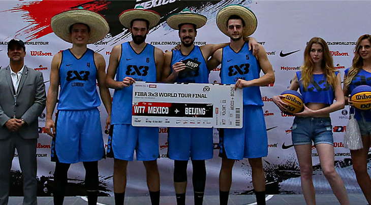 Liman win FIBA 3x3 World Tour Mexico City Masters 2017