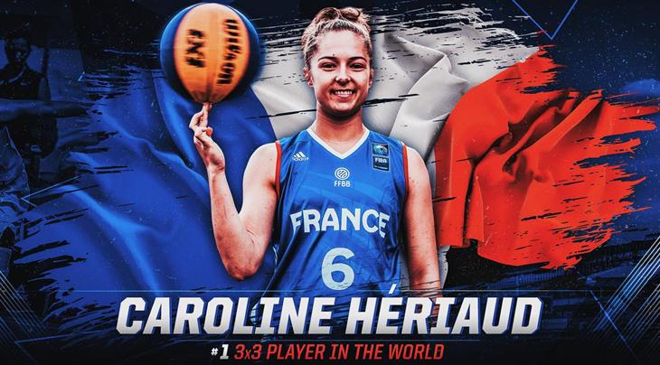 From zero to Hériaud: the FIBA 3x3 Women's Ranking has new leader