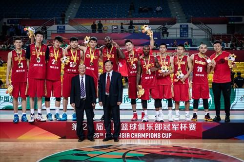 Team CHN - Gold Medal