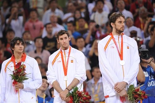 Ricky RUBIO, Rudy FERNANDEZ & Pau GASOL (Spain)