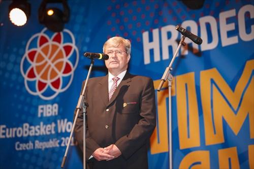 President of the Czech Basketball Federation Miroslav Jansta