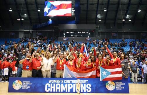 Puerto Rico wins Gold Medal