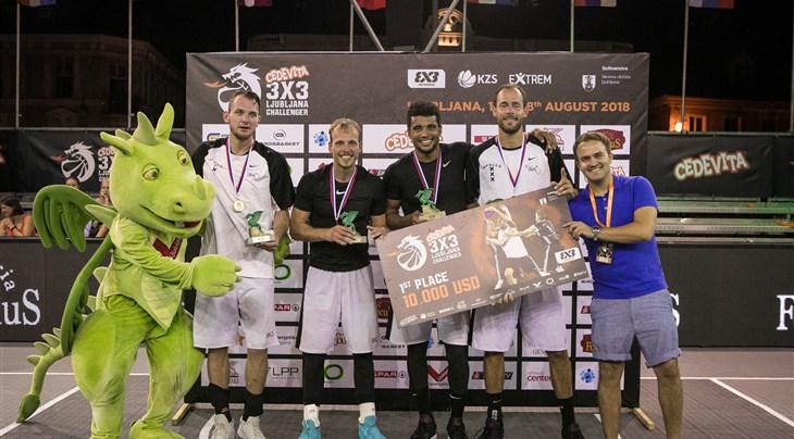 Amsterdam Inoxdeals win Cedevita Ljubljana 3x3 Challenger