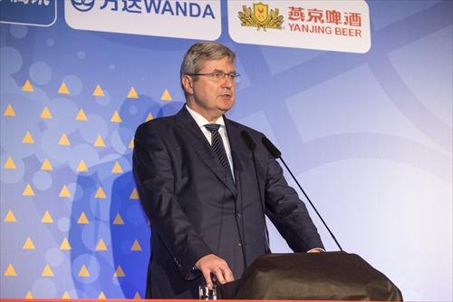 Czech Basketball Federation President Miroslav Jansta