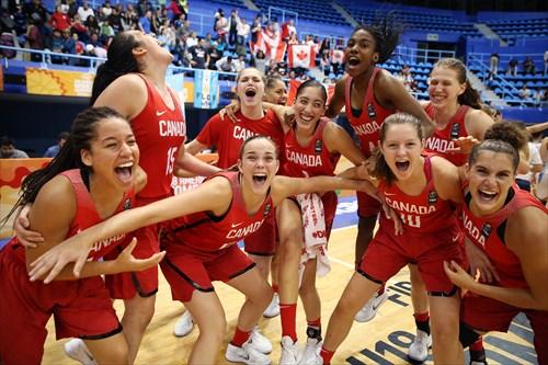 Team Canada Celebrates