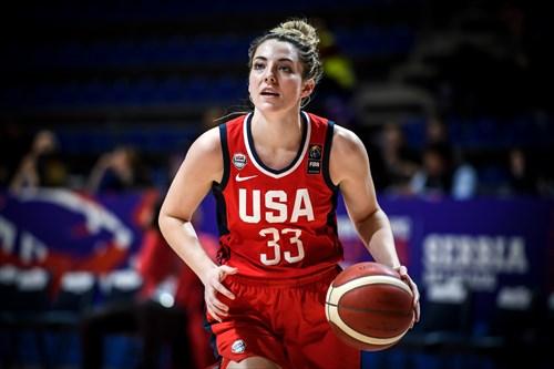 33 Katie Lou Samuelson (USA), MOZ vs USA