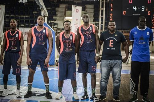 30 Ghikel Sagbohan (EBB), 35 Daniel Yabi (EBB), 23 Arnold Yacoubou (EBB)
