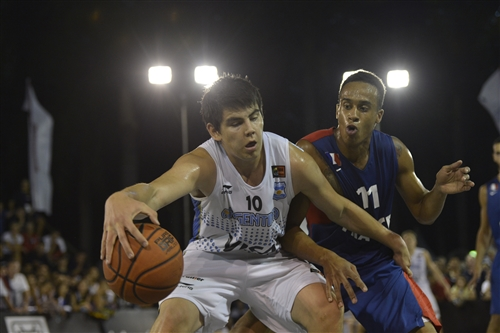 #10 Gabriel Deck (Team Argentina) vs #11 Olivier Yao-Delon (Team France)