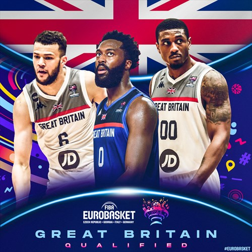 Great Britain qualified for FIBA EuroBasket 2022 on February 20, 2021