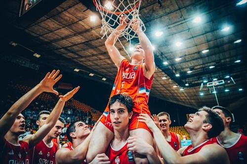 5 Aleksa Uskokovic (SRB), 1 Nikola Miskovic (SRB)