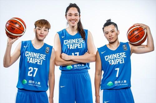 17 Hsi-le Bao (TPE), 27 Yu-ting Lin (TPE)