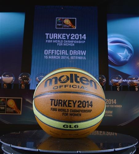 Draw for 2014 FIBA World Championship for Women