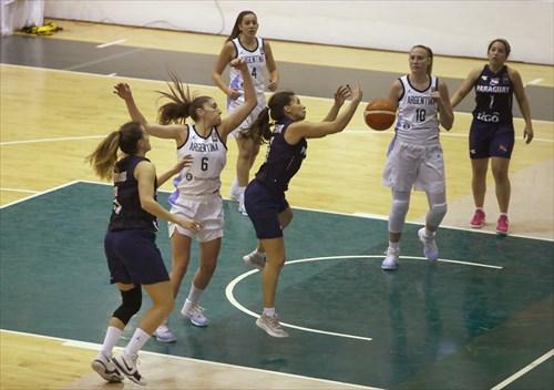6 Marta Peralta (PAR), 5 Paola Ferrari (PAR), 6 Victoria Llorente (ARG)